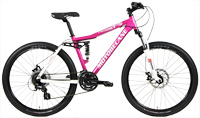 NEW Motobecane Nimble FS Ladies Full Suspension